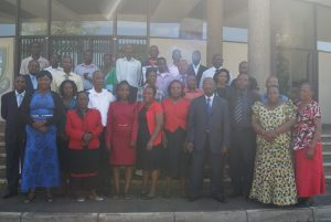 Fire fighting training participants from markets