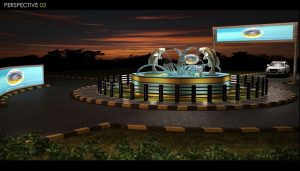 The-design-of-the-roundabout